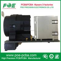 High Precision PCBA Audio Control Printed Circuit Board Assemble