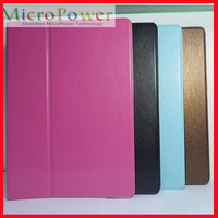 Tablet Custom Folding Smart Leather Case For iPad5