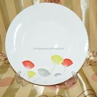 fine gift ceramic plate cake plate christmas decorative plate