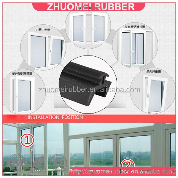 Door And Window Rubber For Glazing Bead - Buy Rubber For Glazing ...