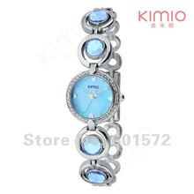 20pcs MOQ Kimio fashion watch,6colors choice,stainless steel band,Japan imported quartz movement,elegant
