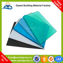 Long duration anti-fog polycarbonate solid sheet 3mm