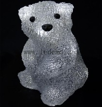 2015 NEW Christmas Mini Acrylic Bear Modelling light