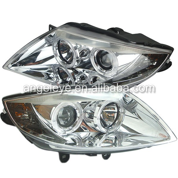 For Bmw E85 Z4 Angel Eyes Head Lamp Headlights Front Light