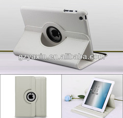 Strong Protector Cover For Apple iPad Mini Rotation Case / Useful Mobile Pouch For iPad Mini Litchi Case Cover
