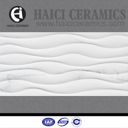 newest building material 3d glazed ceramic kitchen wall tiles