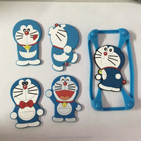 2015 Newest High quality stretch case silicone universal mobile phone cover bumper 3D phone case