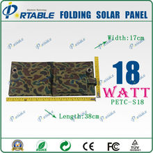 Convenience to take foldable 18W Mono crystalline Silicon 60 solar panel manufacturers in china