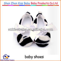 Zebra Print Shoes For Baby