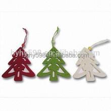 15072701 Hot sales! christmas hanging felt decor for tree ,custom order welcomed felt decor