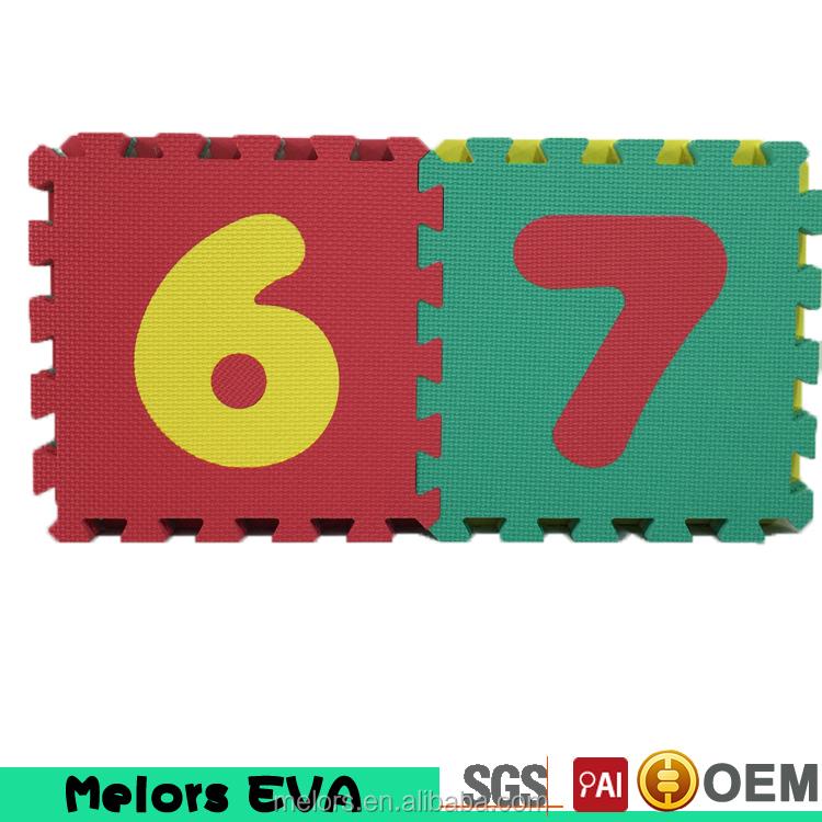 melors custom foam letters and numbers mat eva puzzle mat kids jigsaw