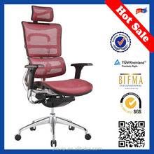 JNS-802 red color most comfortable executive high back office chairs hong kong