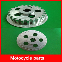 clutch disc cnc machined motorcycle parts
