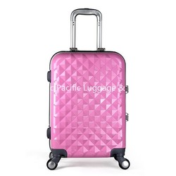 20 inch Girls Travel Rolling Luggage, hard case rolling luggage