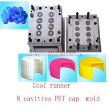plastic pp vial injection medicine ointment cap mold