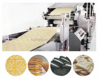 KH large capacity full automatic biscuit making machine industry by tunnel oven / biscuit food factory with 10 OFF