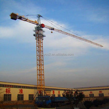 QTZ250 TC7030 Short Delivery Time Overseas Engineers Easy Wear Parts Assurance New Topkit Tower Crane for Construction in stock