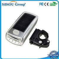 solar powered bicycle light led rear light