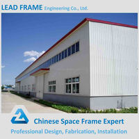 Prefabricated sandwich panel steel industrial house shed design