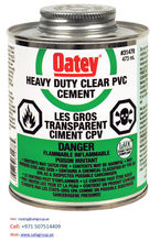 PVC SOLVENT CEMENT HEAVY DUTY (OATEY) UAE AFRICA IRAQ SAUDI JORDAN