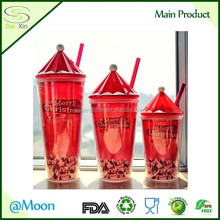16oz double wall plastic straw mug or sippy mug and beautiful remove ps plastic sippy mug