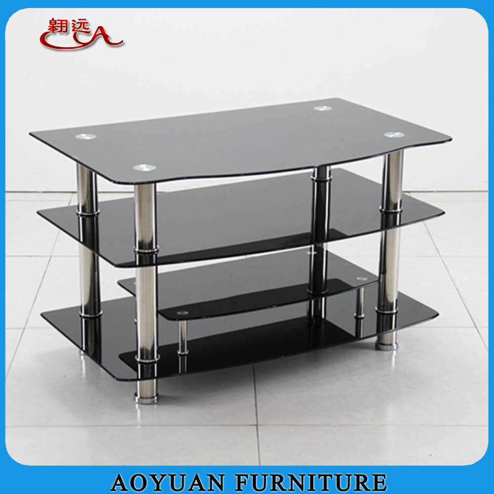 Black Glass Tv Stand Buy Glass Tv Stand Product On