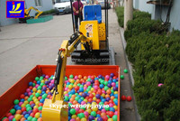 JYC360 mini kids excavator for amusement ride on mini backhoe for sale