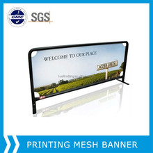 Roll material supplier!Large format premium PVC Mesh Banners/outdoor advertising banners