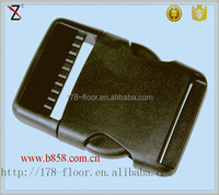 manufacturer supply plastic side release buckle for purse bag
