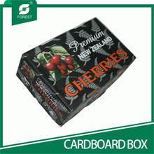 ONE TOP & ONE BOTTOM CORRUGATED CARDBOARD BOX PACKING SWEET FRUITS