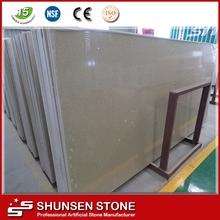 Star Spot Yellow Engineer Quartz Stone Big Slab 3200X1600X20/30MM