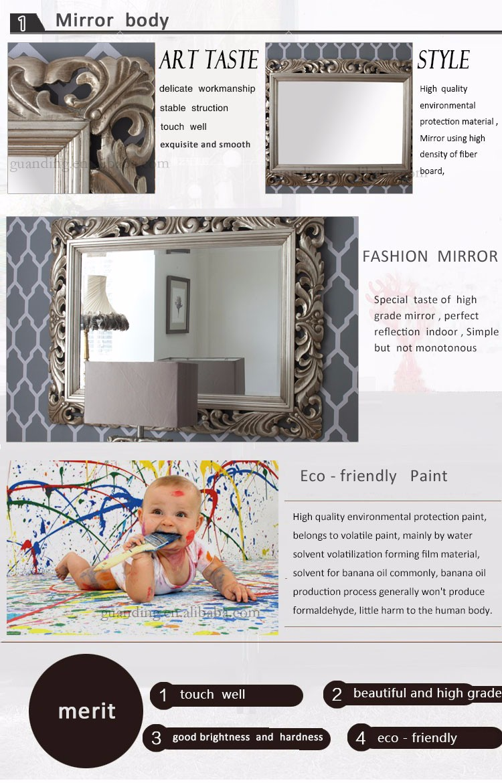 호텔 장식 벽 거울 큰 전체 길이 벽 거울 프레임-거울 -상품 ID ...