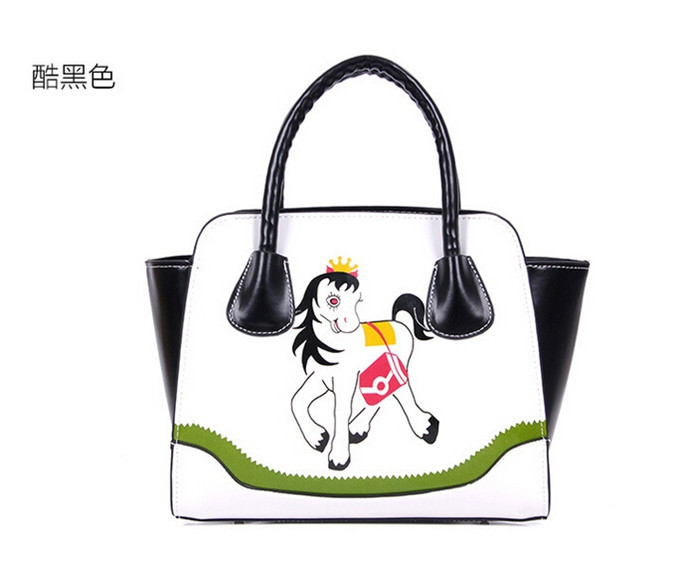 Free Shipping Korea Style Shoulder Bag Horse Handbag  Fashion