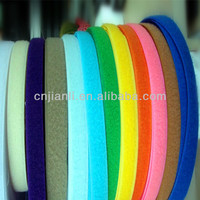 hook and loop tape/ 40%poly high quality garments hook and loop/polyester&nylon quality tape