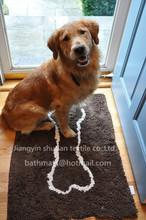Shaggy Floor Mat /Pet mat/Pet absorbent mat/Pet bowl mat
