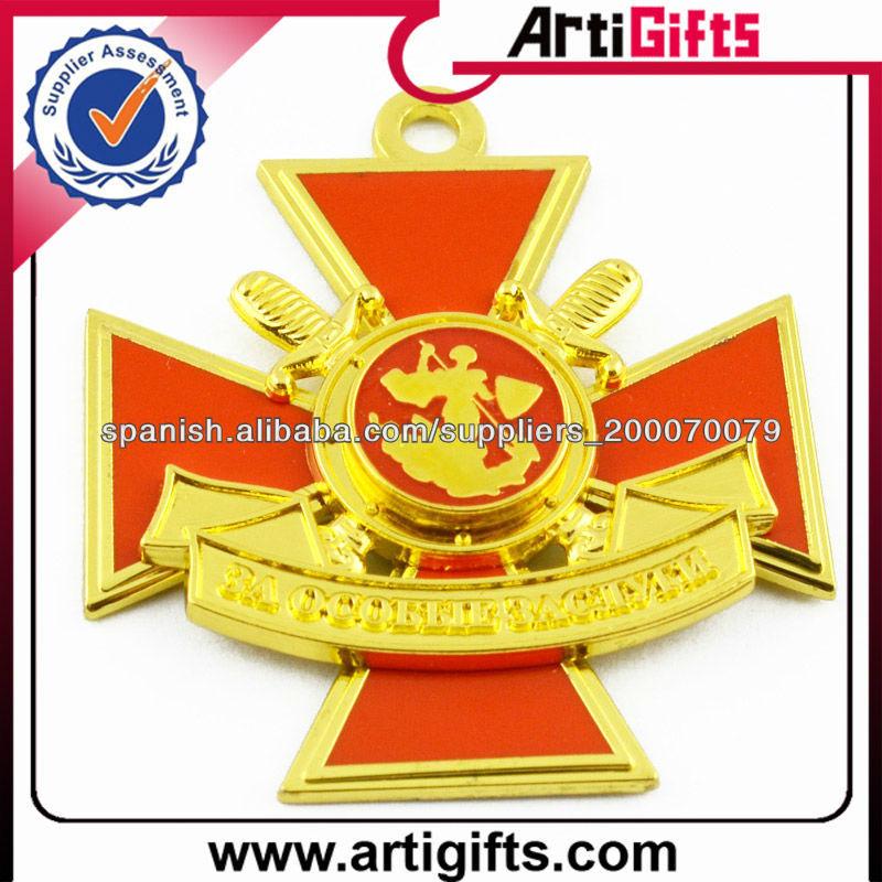 Fábrica de productos de recuerdo medalla militar del metal