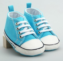 high quality wholesale blue cotton baby shoes made in China