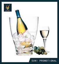 Plastic Acrylic Champagne Ice Bucket for Promotion