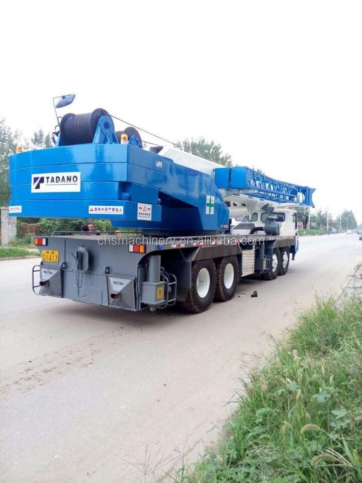 Used Crane Spare Parts : Ton crane used tadano truck liebherr