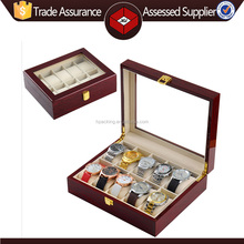 Hot!! Custom Made Wooden Watch Box for Storage and Display