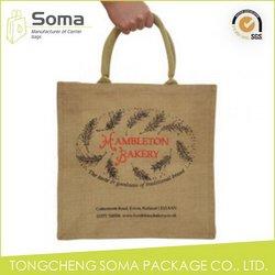 Popular stylish handmade linen jute bags