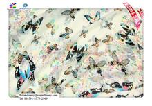 Cute Girls Women's Fashion Chiffon Butterfly Pattern Soft Long Shawl Scarf Wrap