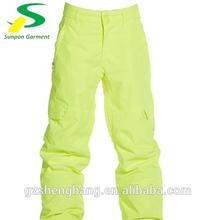 vestuário de protecção de segurança refletivo calça impermeável
