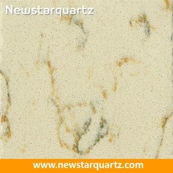 NQ5047W--Newstar Cost of Beige Marble Quartz Countertops