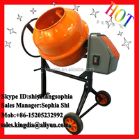 140L small electric used portable concrete mortar mixer for sale