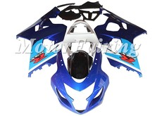 Motorcycle For Suzuki GSXR600 GSX-R750 04-05 K4 Fairing Kit/Bodywork Injection Moulding kit