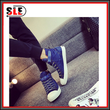 new high han edition washed canvas shoes fashion men's shoes for casual shoes a undertakes to cowboy cloth shoes shoe male