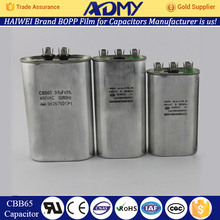 Free Sample ADMY cbb65 capacitor 50+5 uf hot sell