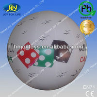 Helium flying balloon for advertising with your logo