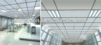 ISO9001:2000,22 years manufacturer metal fireproof wall and ceiling covering materials